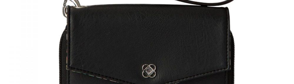 Phone Wallet - Black