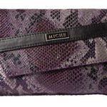Snake Skin Purple Clutch