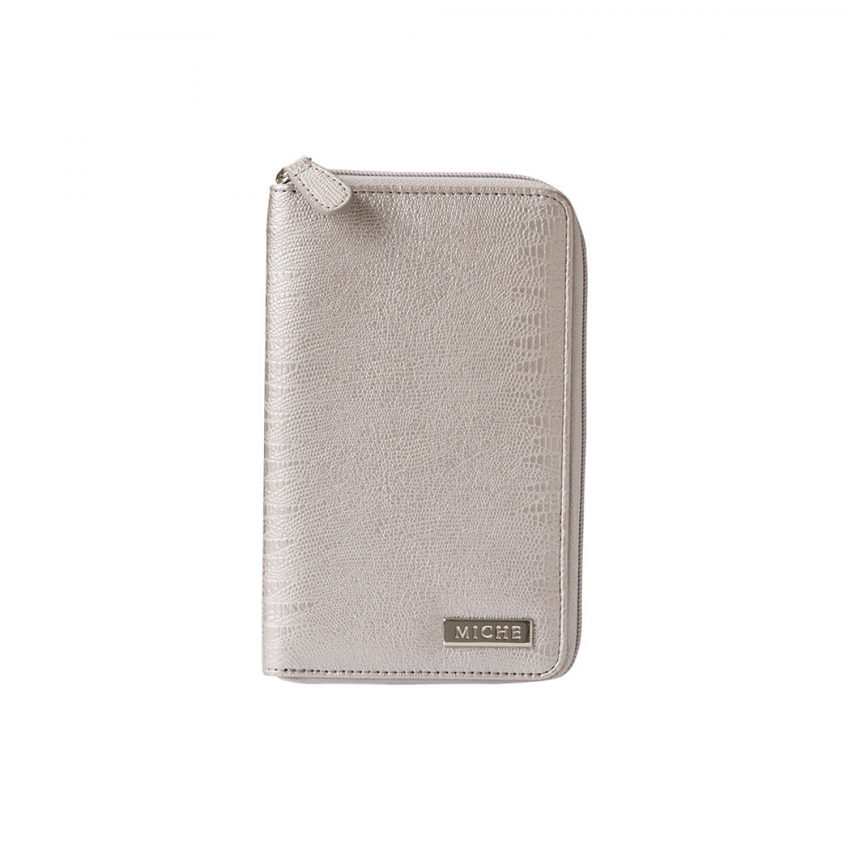 Wallet - Metallic Silver